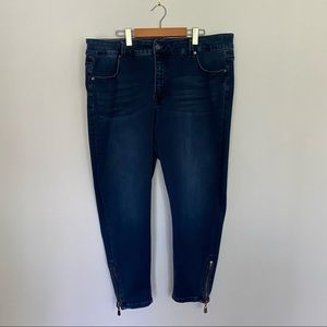 Melissa McCarthy Seven 7 Skinny Ankle Jeans
